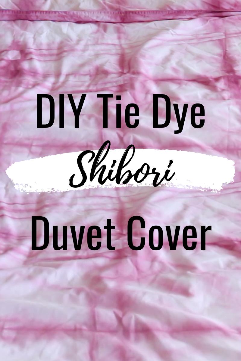 Shibori Tie Dye Duvet Cover Diy Strictly Kendra